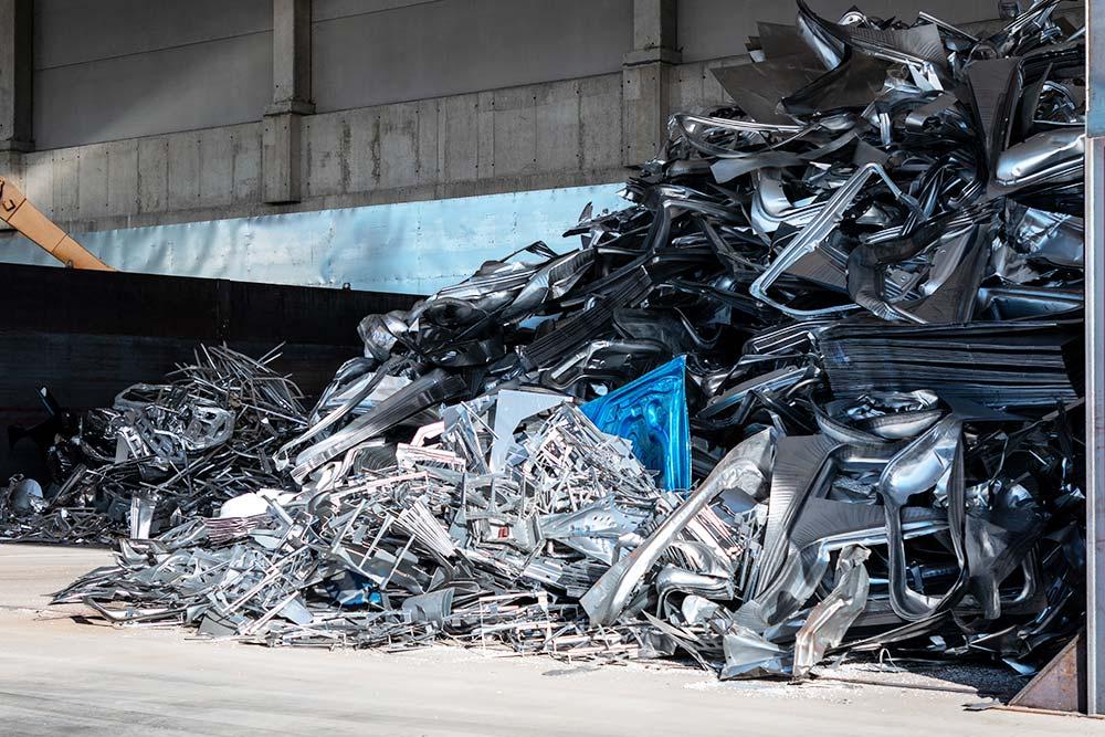 Raccolta e recupero materiali ferrosi e non ferrosi